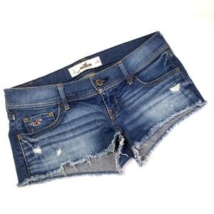 Hollister Distressed Cutoff Booty Jean Shorts 3